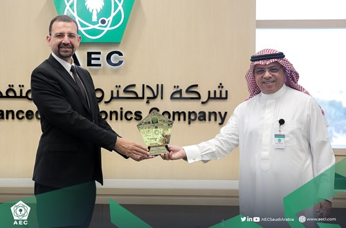 AEC Hosts Schneider Electric Saudi Arabia's Executive Team